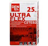 Плиточный эластичный клей для внешнего использование ULTRA FLEX C2ТЕS2
